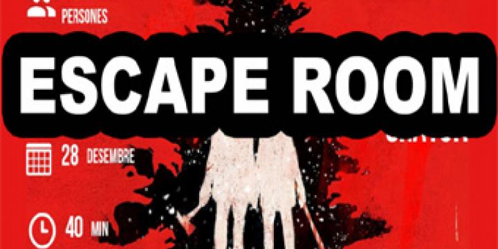 L'Escape Room es durà a terme el divendres 28 de desembre