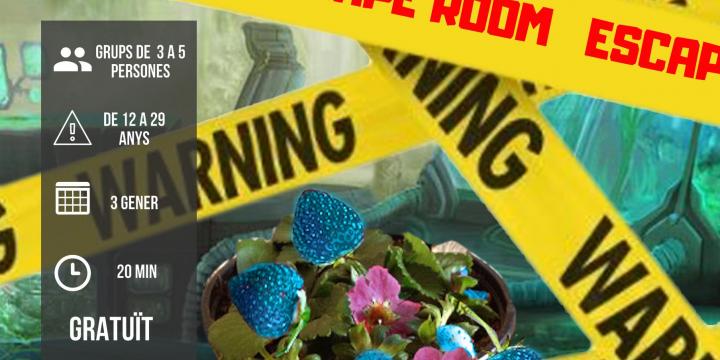 Cartell Escape Room Casal Joves 2019
