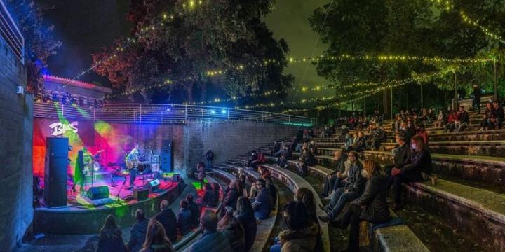 L'amfiteatre de Serraparera tornarà a ser un dels escenaris del Festival
