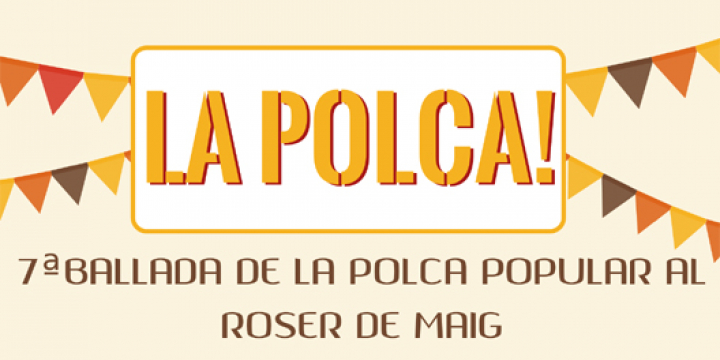Part del cartell anunciant assaigs Polca