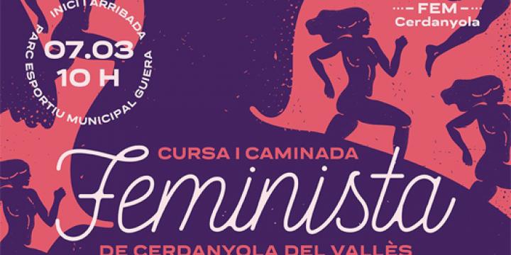 Imatge de la Cursa Feminista 2020