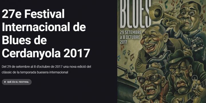 Cartell festival Blues 2017