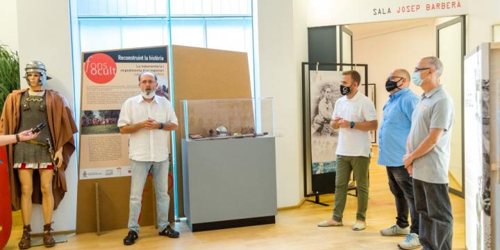 Moment de la presentació exposicions