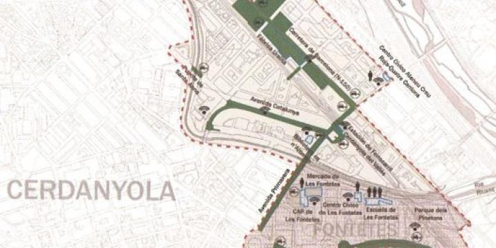 El DUSI contemplava actuacions a diferents barris de la ciutat