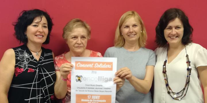 Presentació Concert Solidari pro Oncolliga