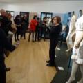 Darrera visita guiada a l'exposició Intimitats del Museu de Ca n'Oliver