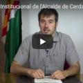 Declaració institucional de l'Alcalde