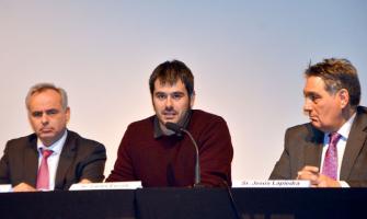 L'alcalde Carles Escolà intervé a l'acte commemoratiu