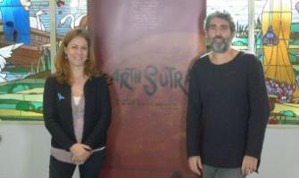 Helena Solà va felicitar en persona a Jordi Carot