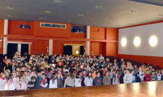 Alumnat que participa en el projecte Cultura Emprenedora a l'Escola