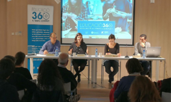 Un moment de la Jornada Esport Escolar i Educació 360