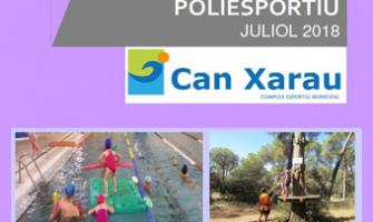El Casal Poliesportiu de Can Xarau començarà el 2 de juliol