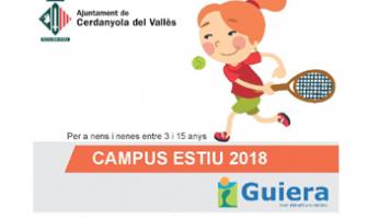 Cartell Súper Campus Guiera