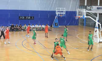 Partit de bàsquet del sènior B del CB Cerdanyola