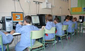 Alumnes de l'escola Carles Buïgas