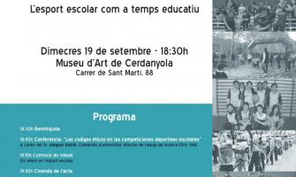 Cartell II Jornada Esport Escolar i Educació 360