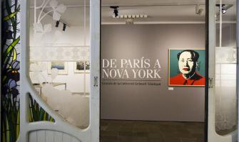 Fotografia de la mostra 'de París a Nova York'