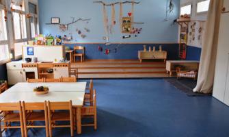 Aula de l'Escola Bressol Municipal Montflorit