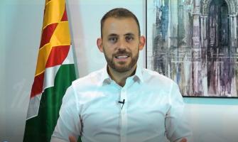 Captura de pantalla del vídeo declaració alcalde sobre inici de curs
