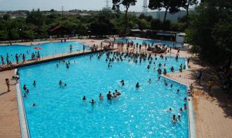 Fotografia d'arxiu de les piscines del Bosc Tancat
