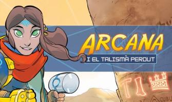 Imatge videojoc Arqueoxarxa Arcana i el talismà perdut