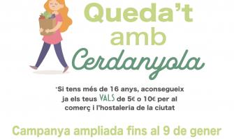 Imatge de la campanya Queda't amb Cerdanyola