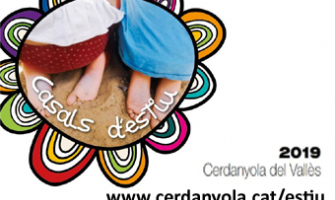 Imatge de la portada del fulletó informatiu dels Casals d'Estiu