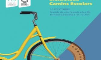 Cartell Bicicletada Camins Escolars