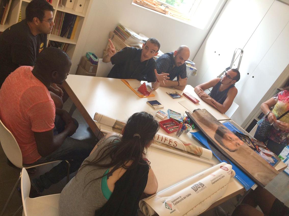 Reunió de treball dels participants al projecte