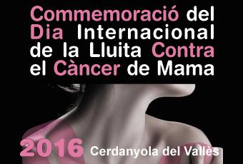 Cerdanyola se suma un any més a la commemoració del Dia Internacional de la Lluita Contra el Càncer de Mama