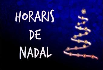 Horaris de Nadal