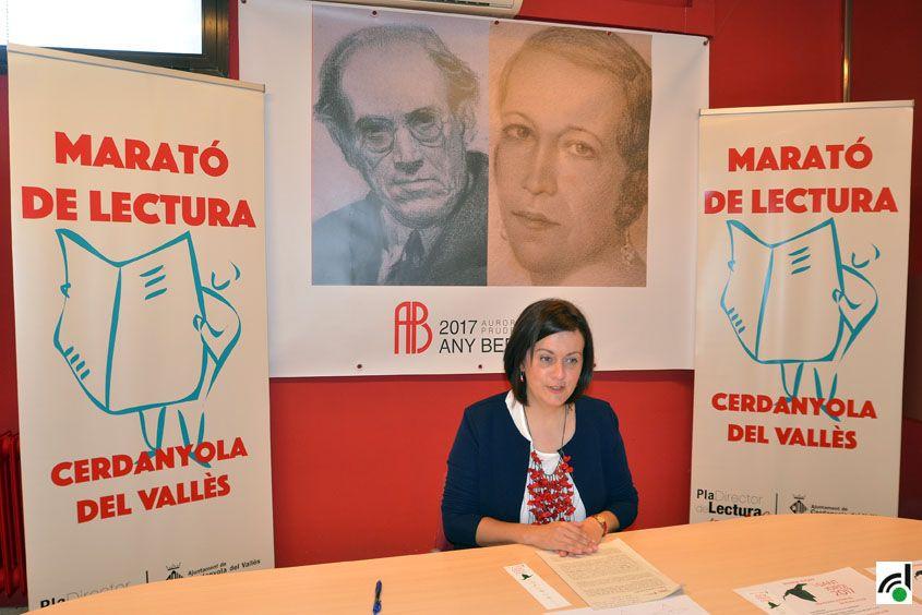 Elvi Vila va presentar el programa d'activitats de Sant Jordi