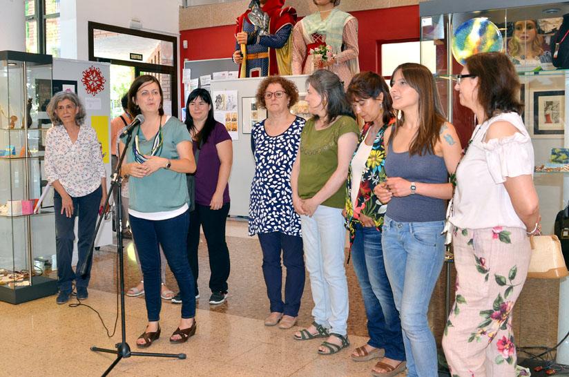 La regidora de Cultura, Elvi Vila, intervé durant l'acte inaugural
