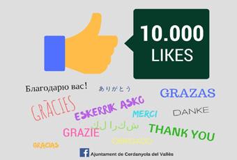 El Facebook de l'Ajuntament de Cerdanyola supera els 10 mil m'agrada