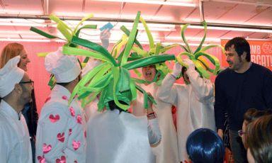 Lliurament de premis del Concurs de disfresses del Mercat Serraperera l'any passat