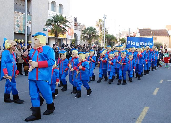 Moment de la Rua de Carnaval del 2011