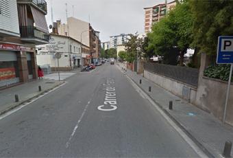 Imatge de google maps del carrer del Francolí