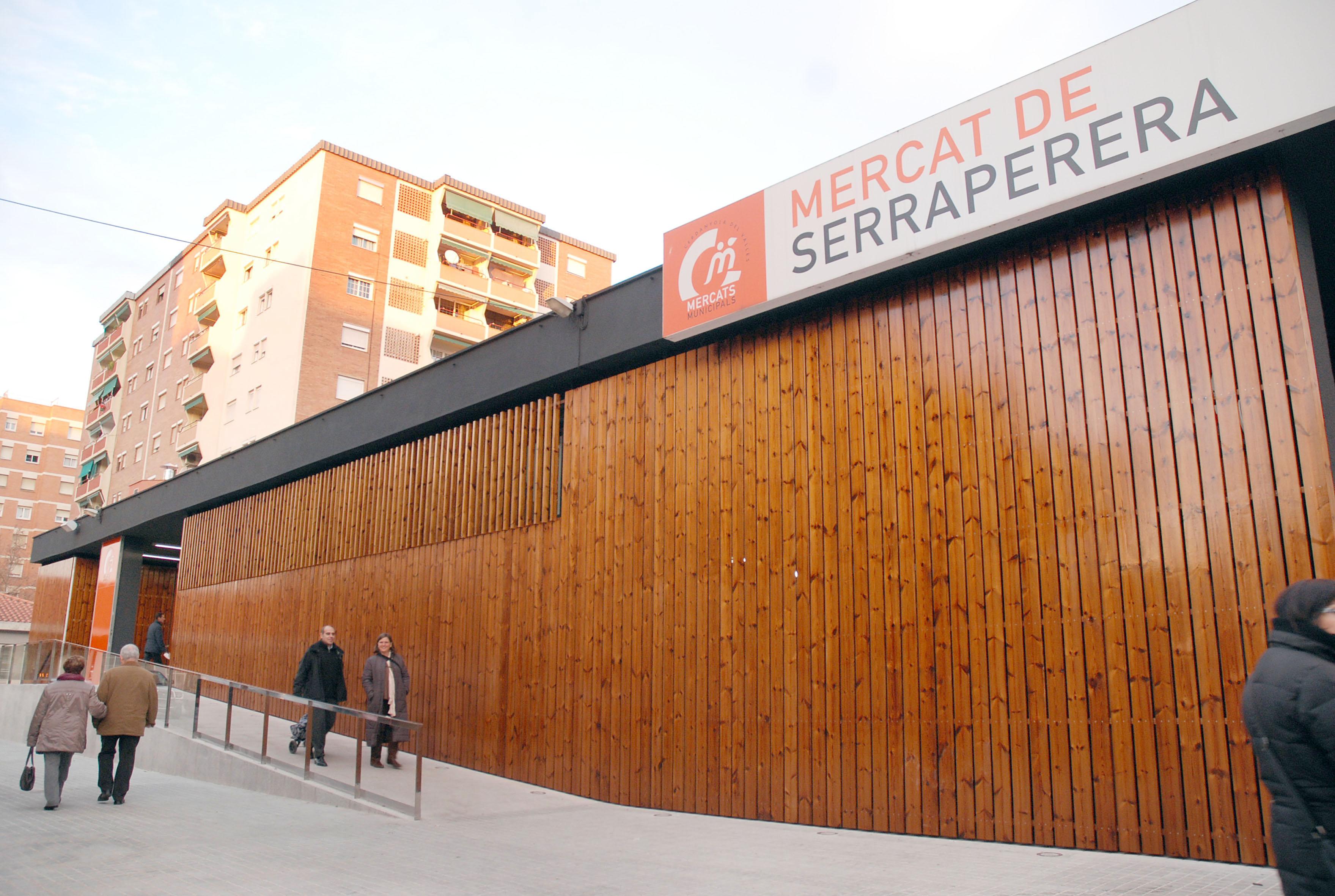 Fotografia del Mercat de Serraperera