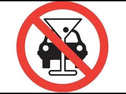 Logotip de prohibir conduir si has consumit alchool