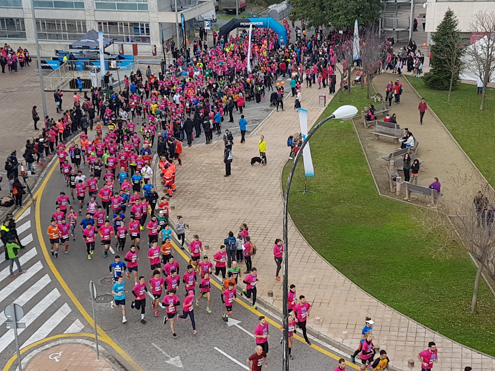Inici de la cursa. Foto UAB