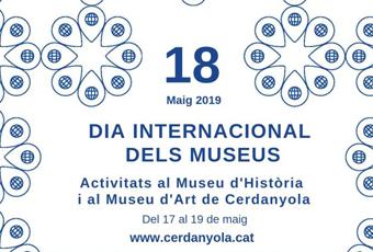 Detall del cartell del Dia Internacional dels Museus 2019