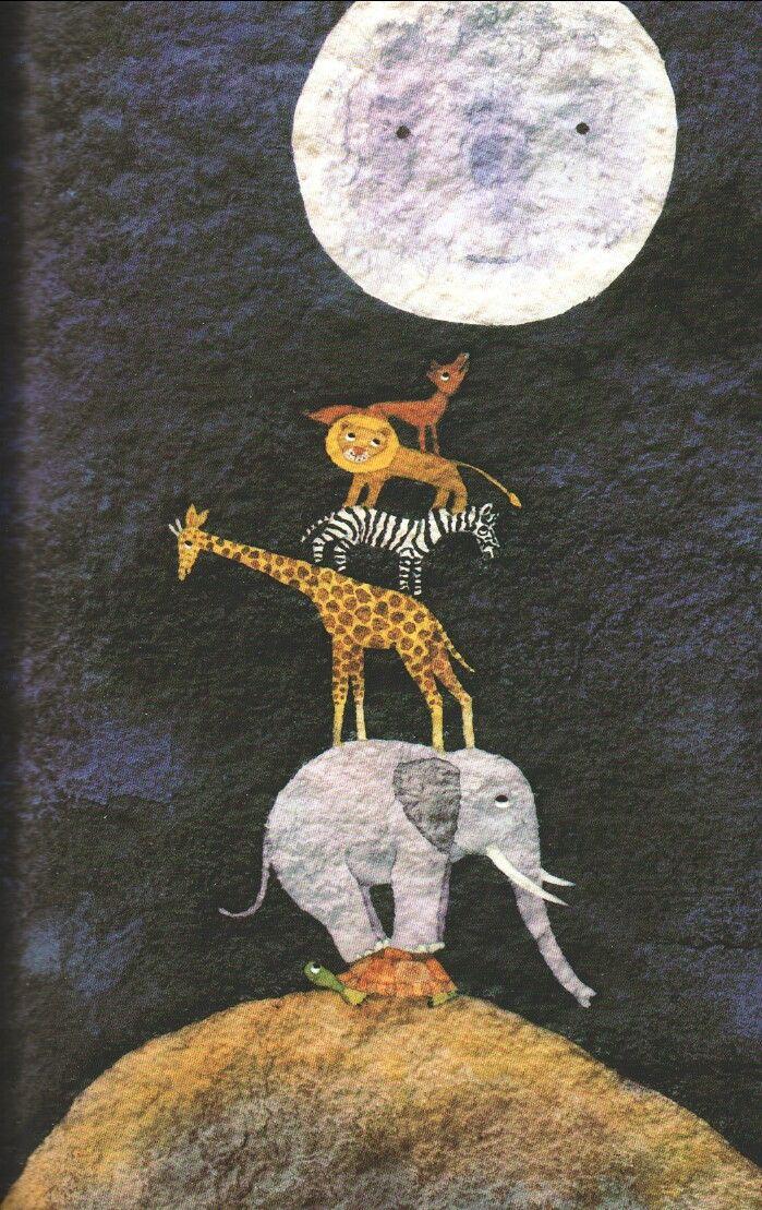 Il·lustració del llibre 'De què fa gust la lluna?
