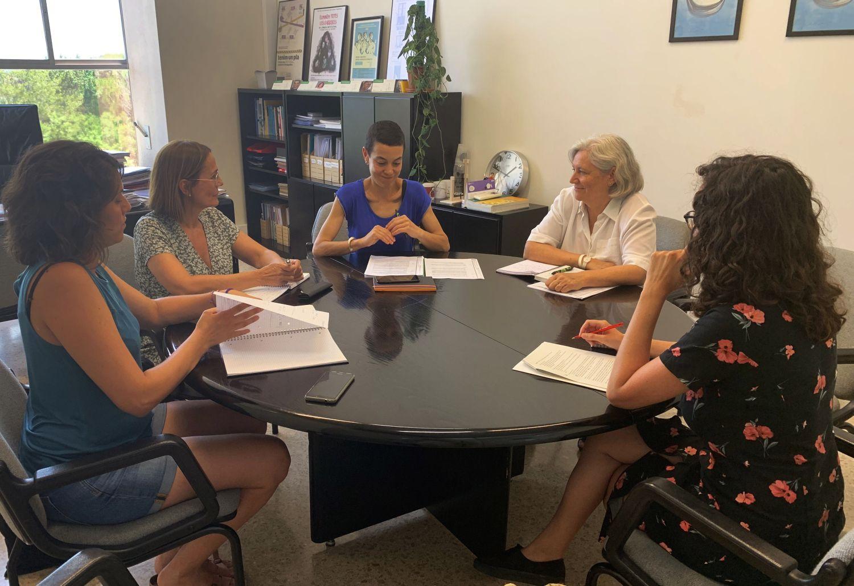 Reunió de seguiment del conveni per millorar l'atenció integral en casos de violència masclista a la UAB