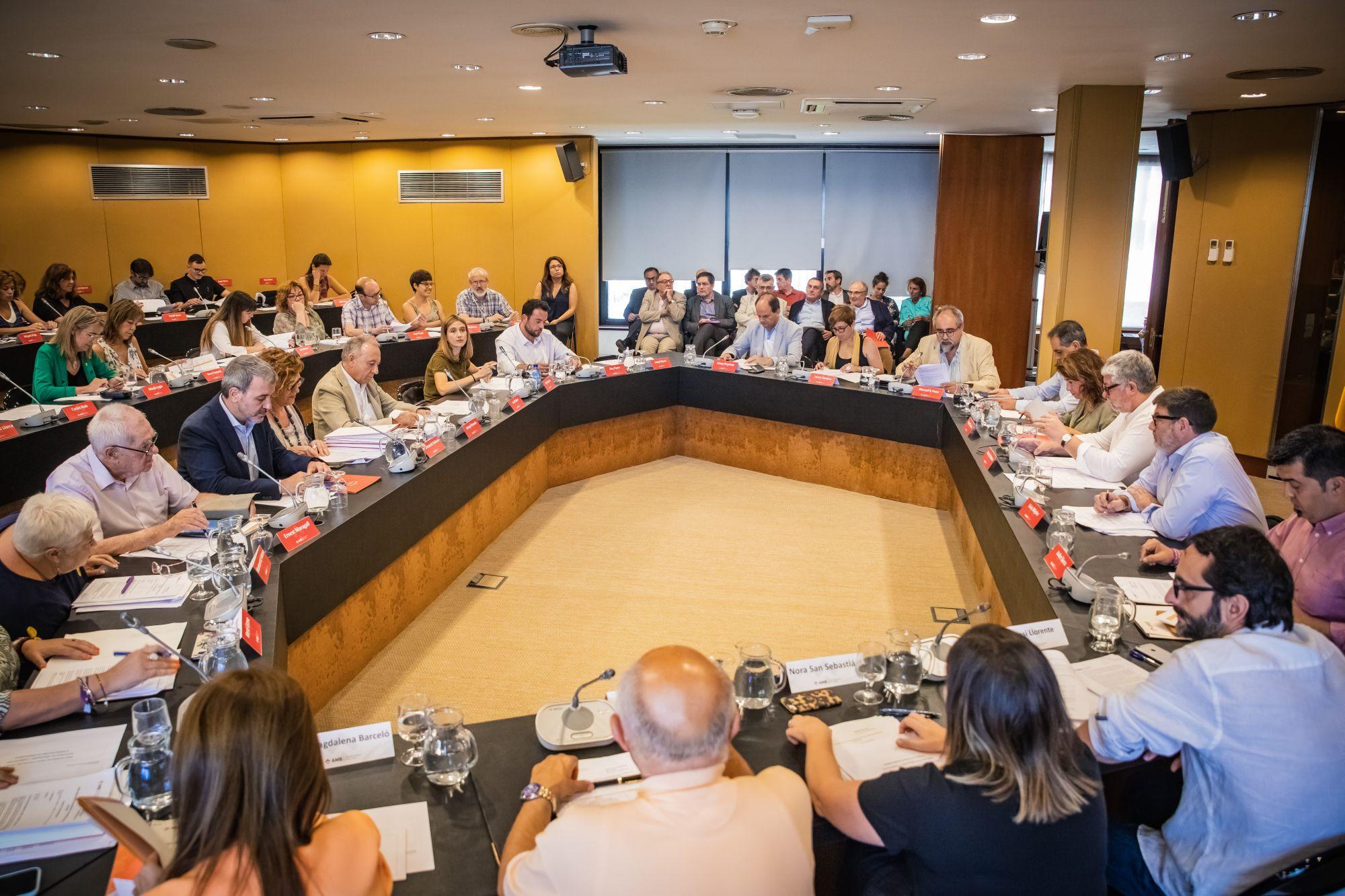 El ple extraordinari del Consell Metropolità es va celebrar el 31 de juliol