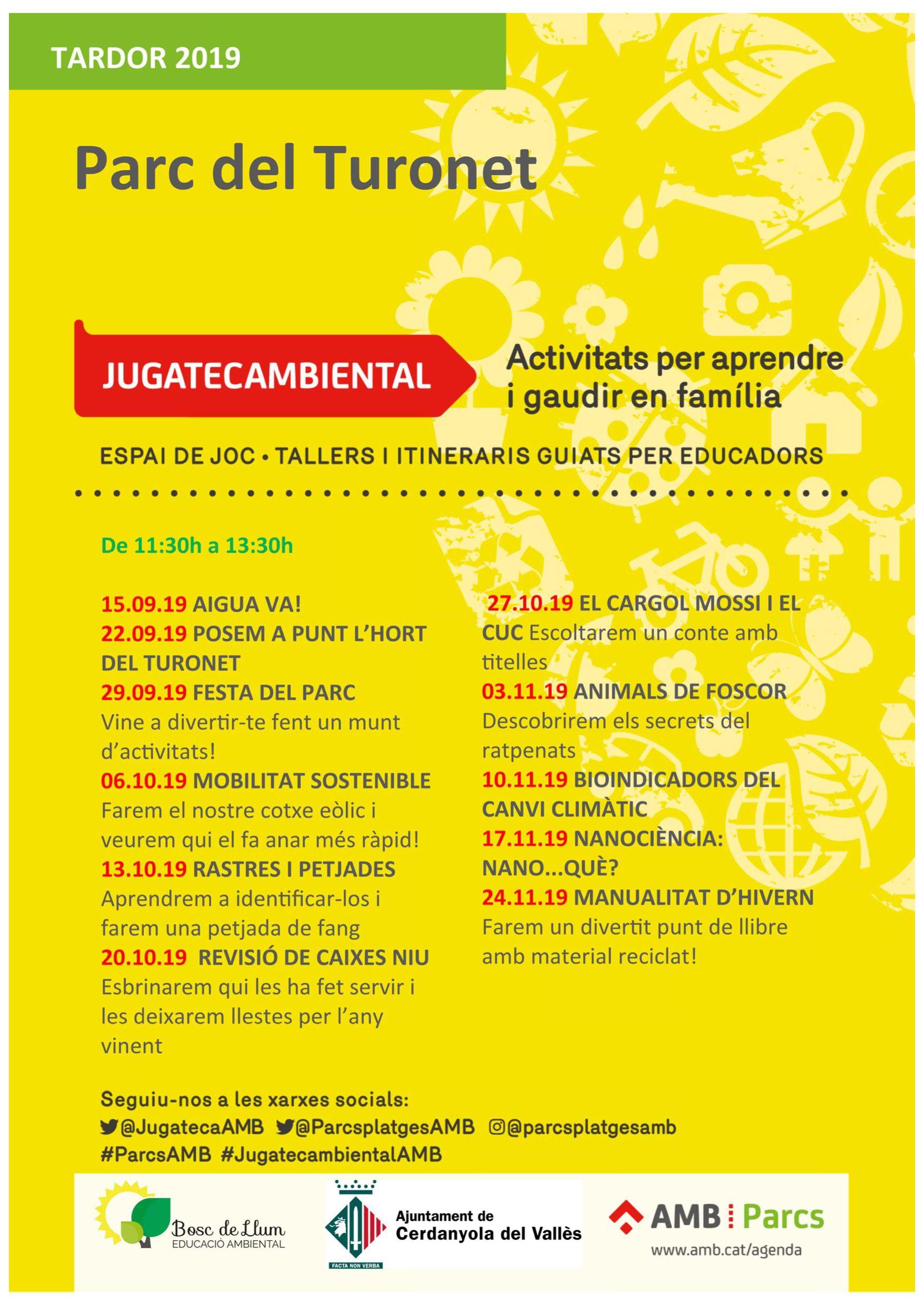 Les activitats de la Jugatecambiental