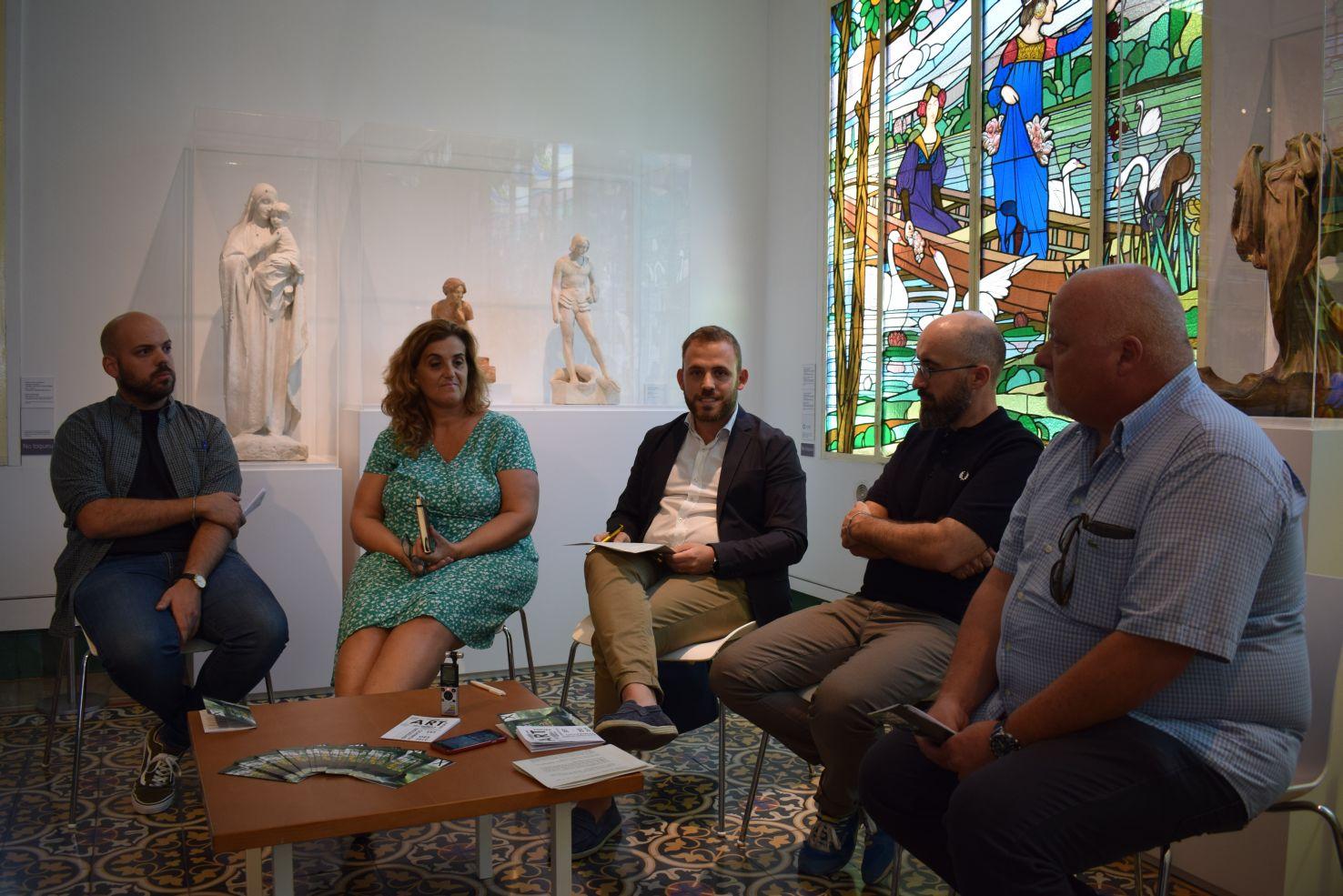 Moment de la presentació dels actes en roda de premsa