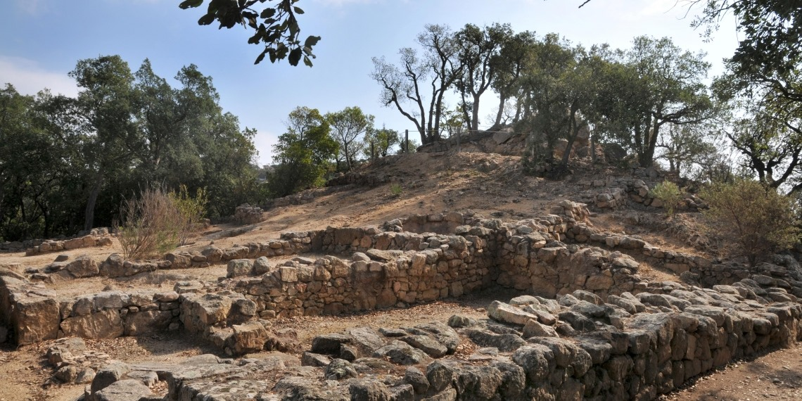 Vista del poblat de Lloret