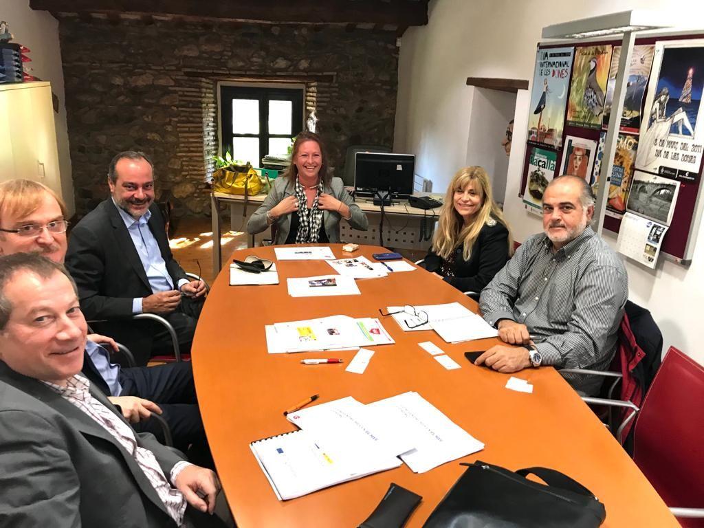 Foto d'un moment de la reunió