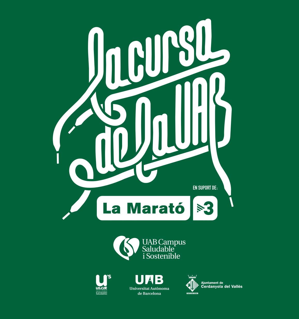 Logo Cartell de la Cursa de la UAB