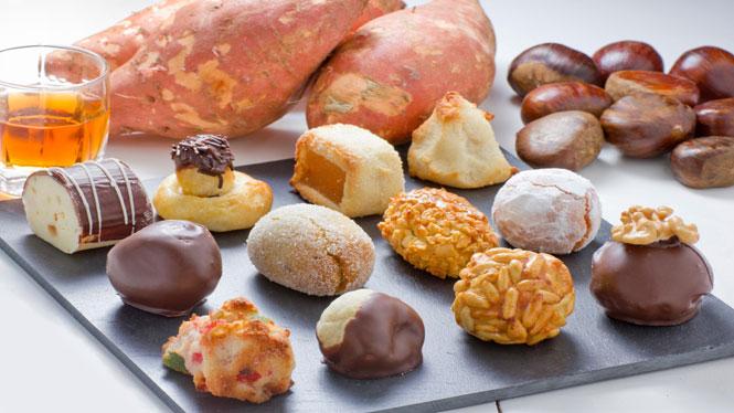 Panellets, castanyes i moniatos